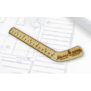 Custom Shape Wood Ruler